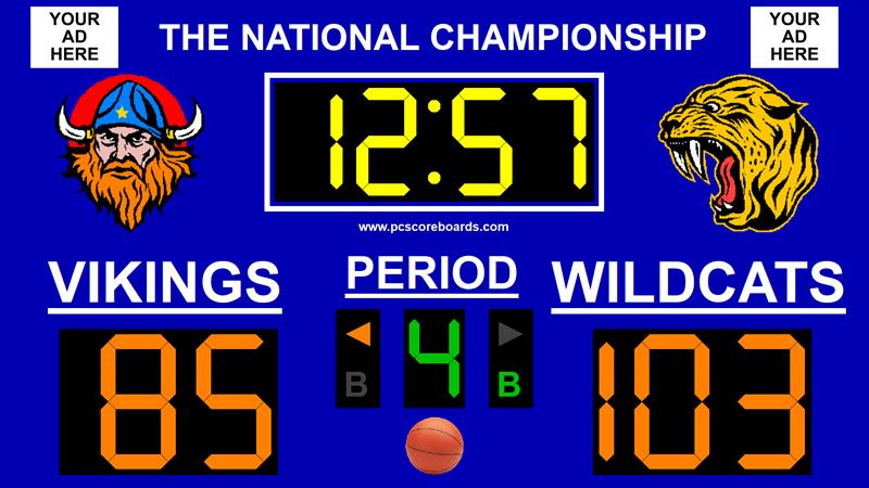 Basketball Scoreboard Standard v3