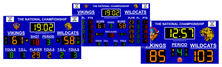 Basketball Scoreboard Software - Turn your computer into a
