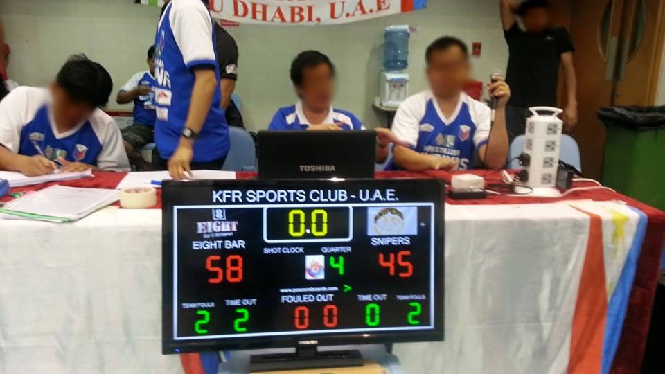 Customer Pictures - PC Scoreboards